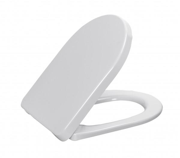 """WC - Sitz """" DARIO BASIC """" mit Deckel weiß"""