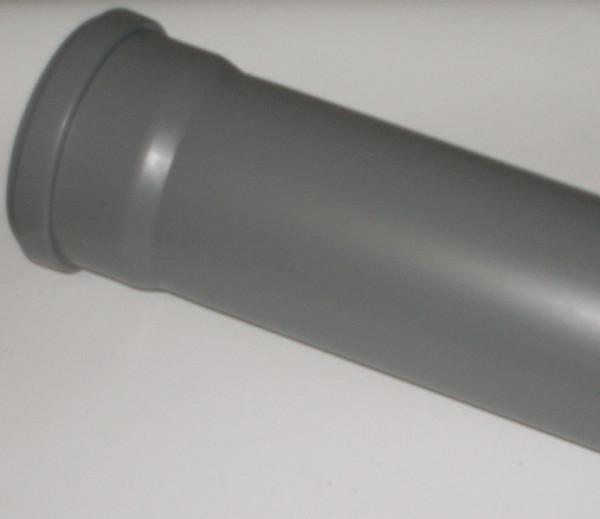 Valsir HT - Abflussrohr mit Steckmuffe und Gummidichtung DN 90