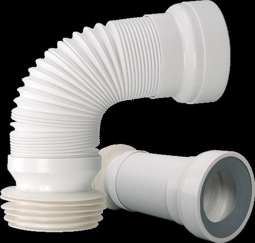 WC - Anschluss-Rohr flexibel DN 98 - DN 120