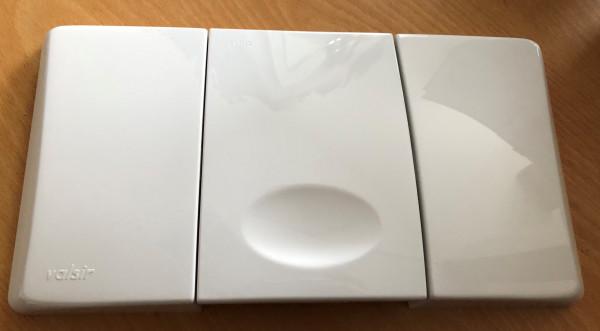 Valsir Betätigungsplatte Typ Angel , weiß 822001