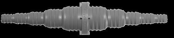 Universal - Schlauchkupplung beidseitig von 8 - 25 mm