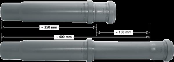 Teleskoprohr DN 50