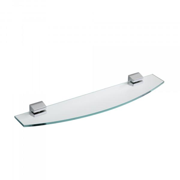 IRIS Ablage mit Glasplatte 600 mm, verchromt